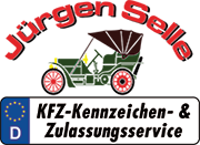 KFZ-Kennzeichen & Zulassungsservice - Jürgen Selle